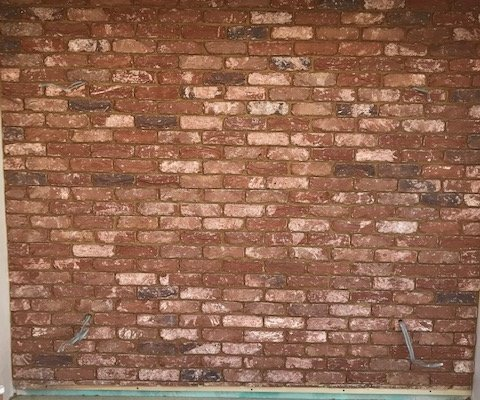 Brick feature Wall in Hungerford